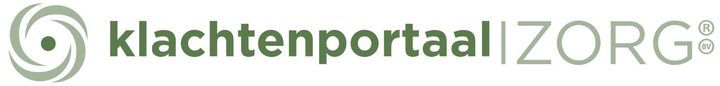 Logo Klachtenportaal Zorg B.V.